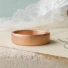Simona ethical wedding ring, 18ct Fairtrade gold