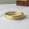 Loki ethical wedding ring, 18ct Fairtrade gold