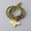 blossom bee fairtrade gold animal amulet pendantblossom bee fairtrade gold animal amulet pendant