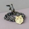 Armel bear fairtrade gold animal amulet pendant ethical necklace